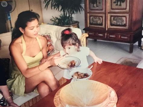mom and i - singapore